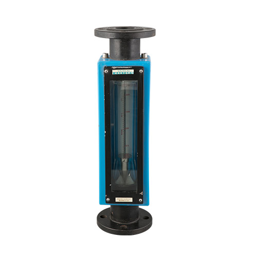 Caudalímetro de tubo de vidrio